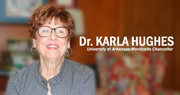 UAM Chancellor Karla Hughes to retire Dec. 31