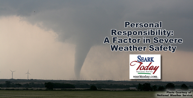 Personal responsibility: A factor in severe weather safety